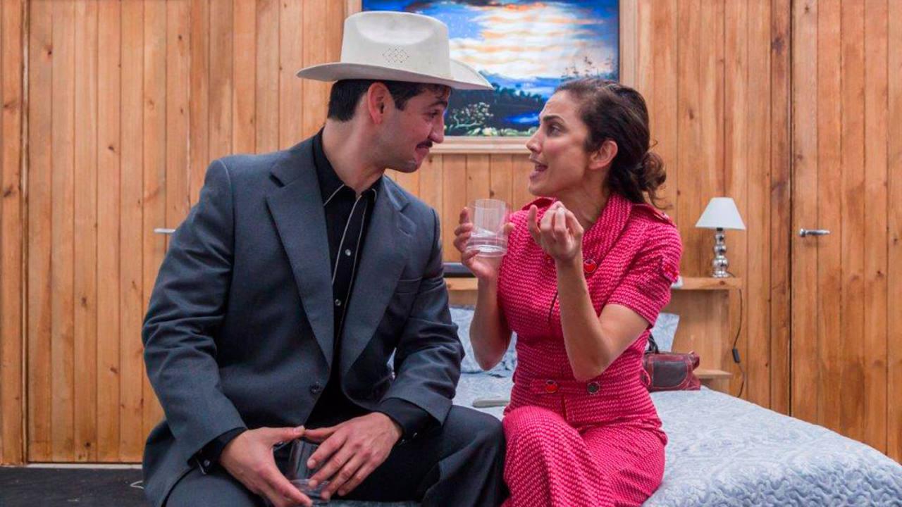 Fran Perea y Toni Acosta en 'La estupidez'