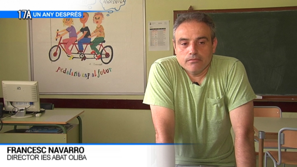 Francesc Navarro, director IES Abat Oliba