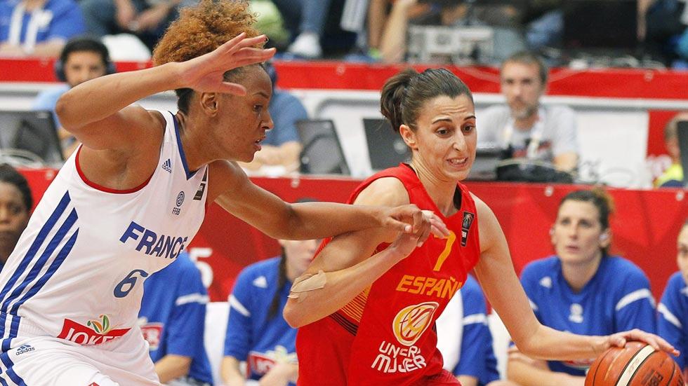 Francia 63 - España 58