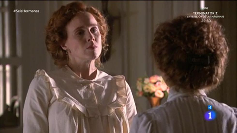 Seis Hermanas - Francisca pregunta a Beatriz por la relación entre ella y Luis