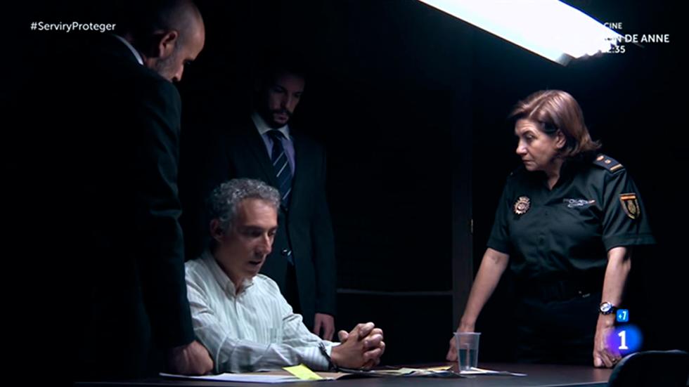 Servir y proteger - Francisco Gutierrez no puede ser el agresor