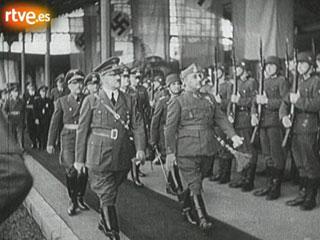 Encuentro entre Franco y Hitler en Hendaya el 23 de octubre de 1940
