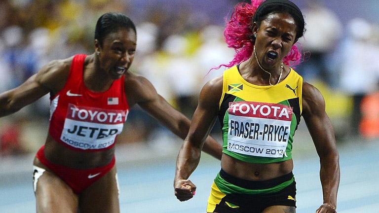 Fraser-Pryce, reina de la velocidad