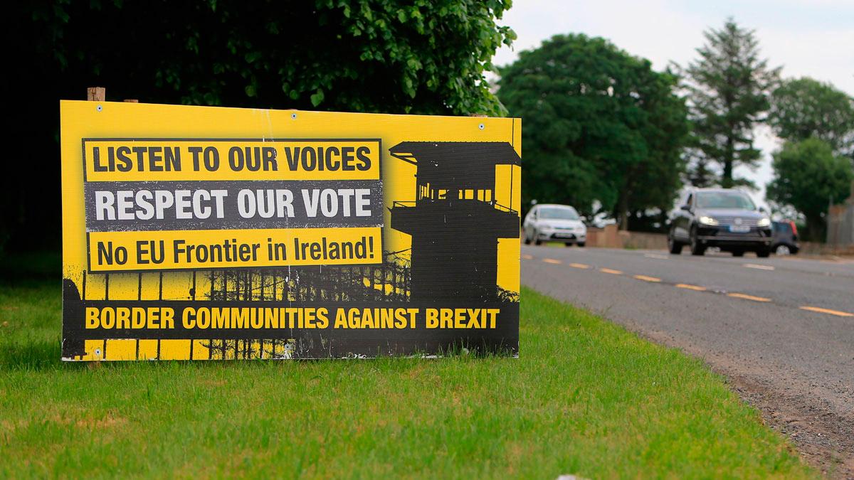 La frontera irlandesa, principal escollo para el acuerdo del 'Brexit'