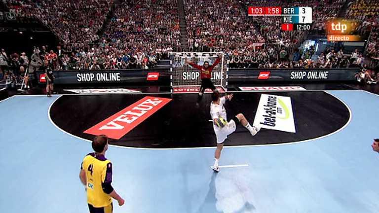 Balonmano - Liga de Campeones EHF. Final Four. 1ª semifinal. Füchse Berlín - THW Kiel - 26/05/12