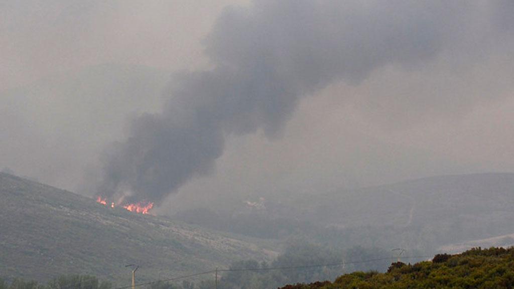 El fuego calcina más de 5.000 hectáreas de monte en León