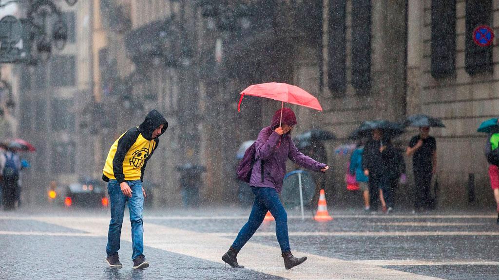 Un fuerte temporal azota a Europa