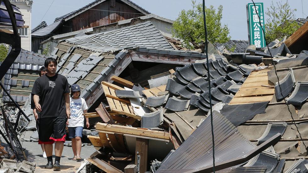 Un fuerte terremoto en Japón deja nueve muertos y un millar de heridos