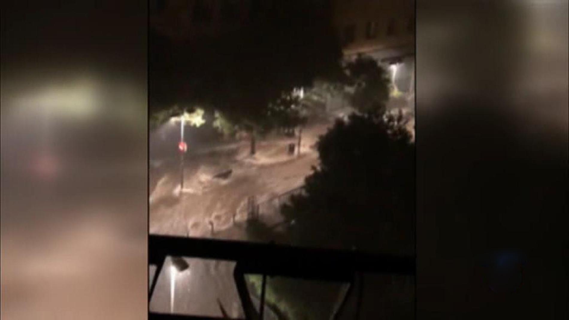 Una fuerte tormenta deja más de 80 litros por metro cuadrado en Barcelona