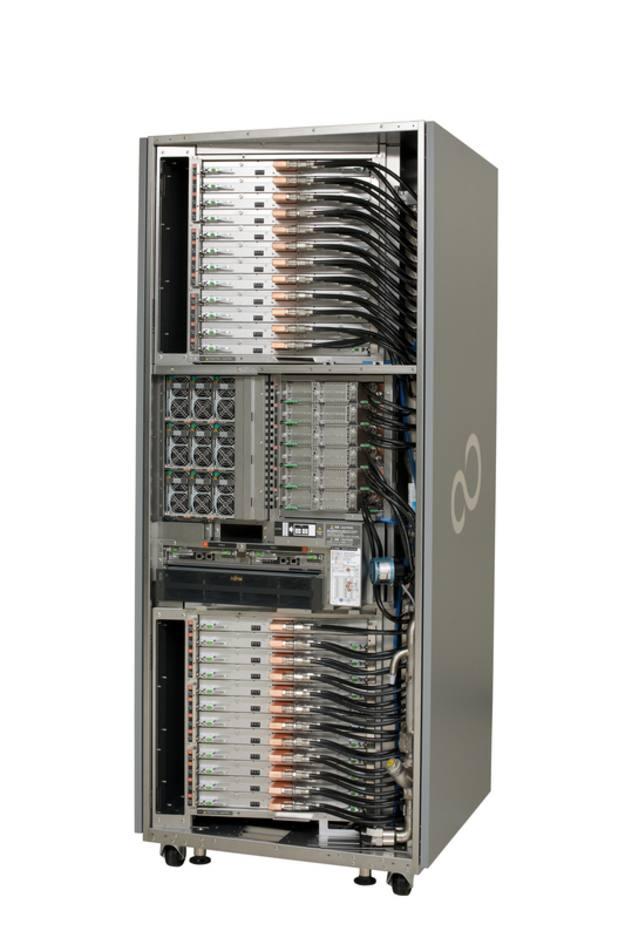 El Fujitsu K marcó una potencia de cálculo de 8,1 petaFLOPS