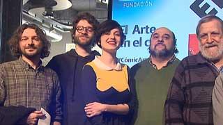 La Fundación Telefónica reúne en una exposición el trabajo de grandes historietistas ue han interpretado en clave de comic las obras maestras de la pintura