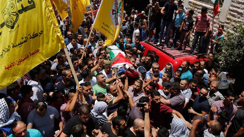 Funeral del palestino Bara Hamamdah