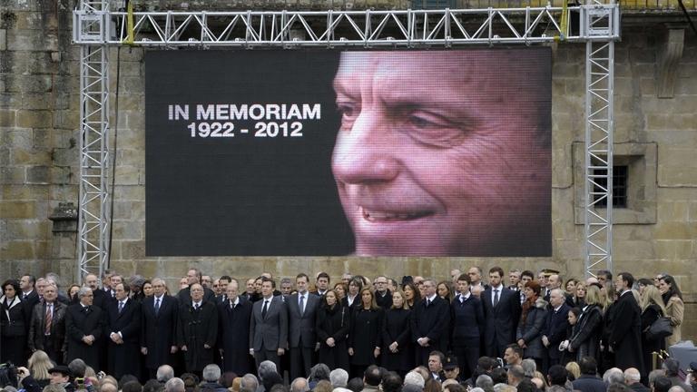 Especial informativo - Funeral en memoria de Fraga - 21/01/12