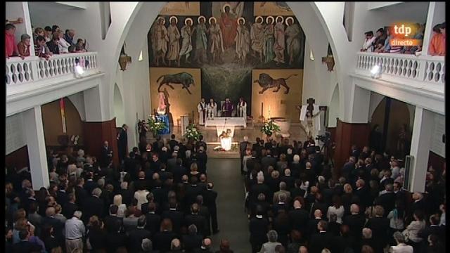 Funeral Severiano Ballesteros - 11/05/11