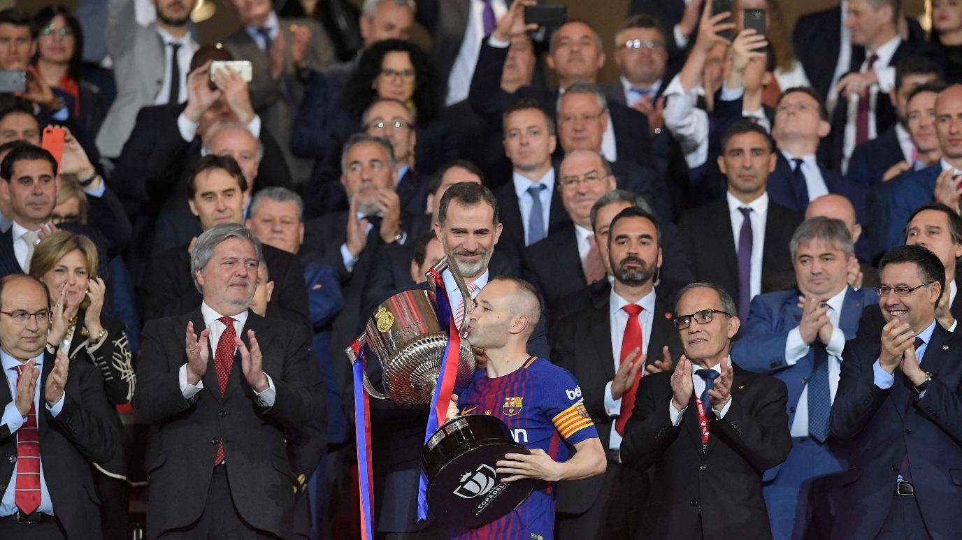 Fútbol - Final Copa del Rey: Sevilla FC - FC Barcelona