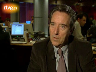 Iñaki Gabilondo, director de informativos de TVE, recuerda el 23-F