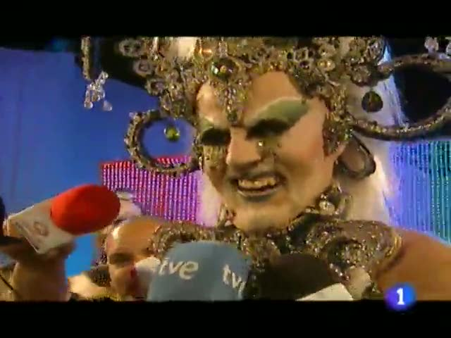 Gala Drag Queen del Carnaval de Las Palmas de Gran Canaria 2011