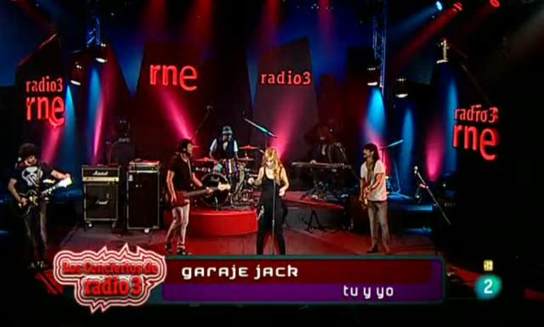 Los conciertos de Radio 3 - Garaje Jack