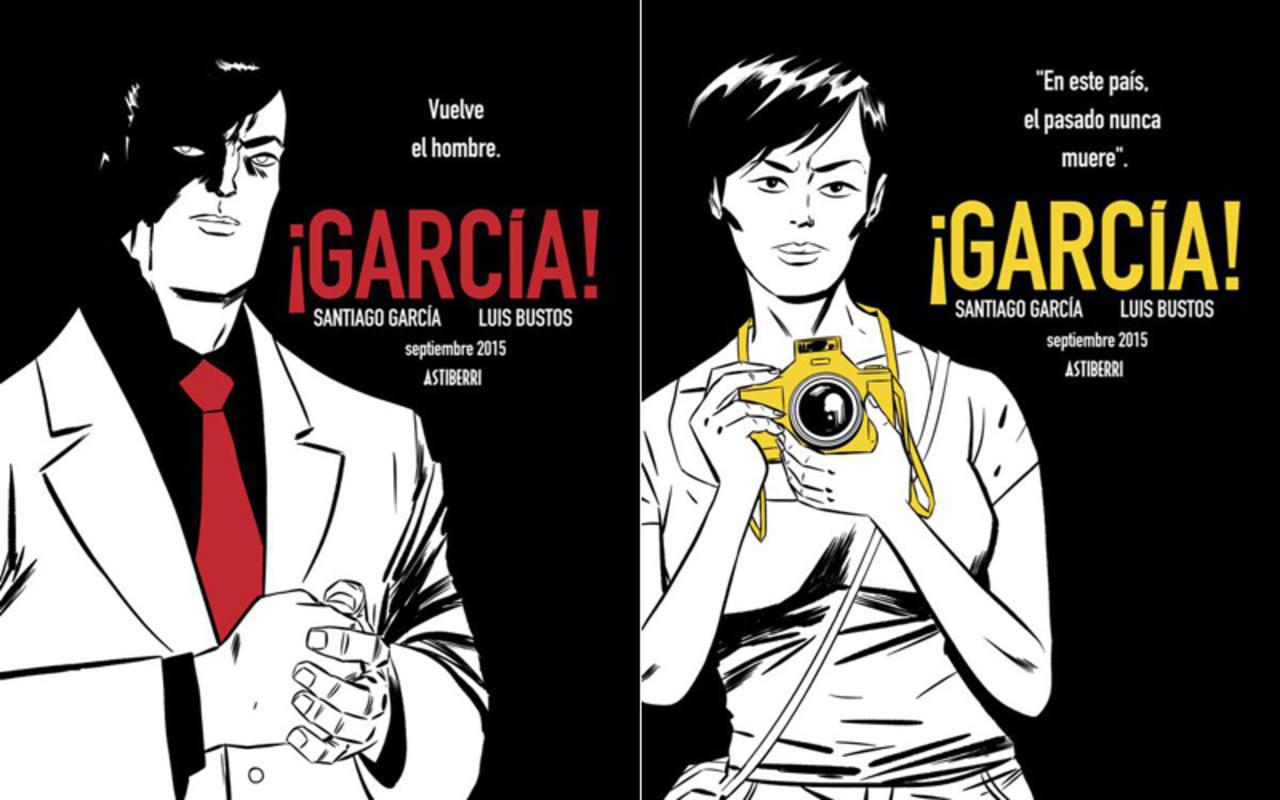 García y Antonia, los protagonistas de la historia