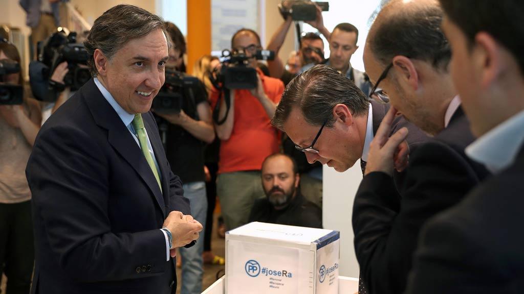 """García Hernández quiere un PP para ganar a """"alternativas más molonas"""" como Cs"""