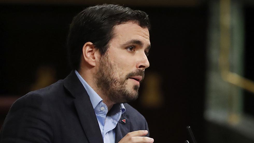 """Garzón: """"Si Rajoy consigue ser presidente es por Felipe González y Susana Díaz"""""""