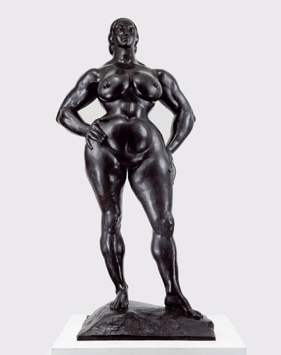 Gaston Lachaise. 'Heroína' (1932). Bronce. The Lachaise Foundation, Boston, MA