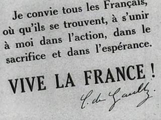 Un 18 de junio de 1940, el general De Gaulle hacía un llamamiento contra la ocupación nazi