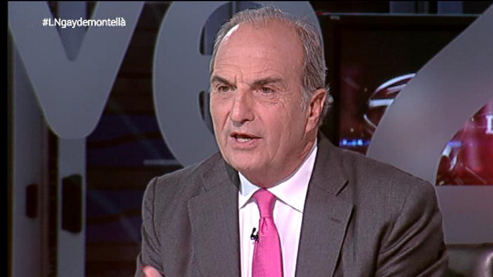 """Gay de Montellá, presidente de la patronal catalana: """"Ahora se mira al catalán como alguien insolidario"""""""