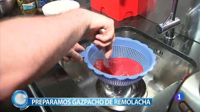 Más Gente - Más Cocina - Gazpacho de remolacha