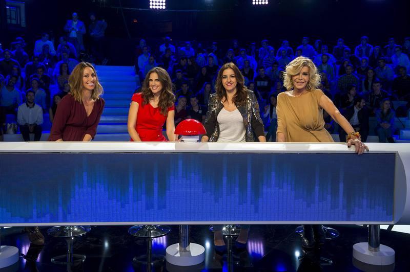Gemma Mengual, Nuria Fergó, Llum Barrera y Bibiana Fernández pondrán a prueba su buen oído en 'El gran reto musical'