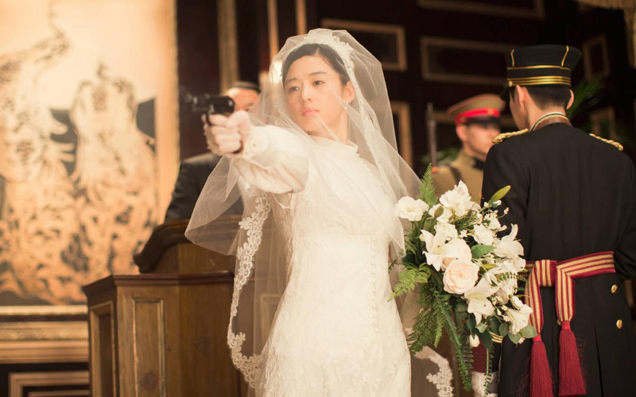 Gianna Jun en el climax de la película