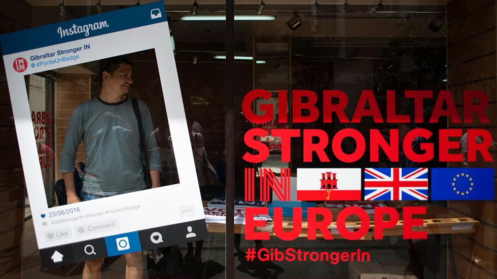 Gibraltar no quiere abandonar la Unión Europea