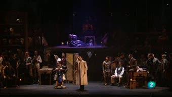 Programa de mano - 'Gloria y peluca' y 'El estreno de una artista' en el Teatro de la Zarzuela