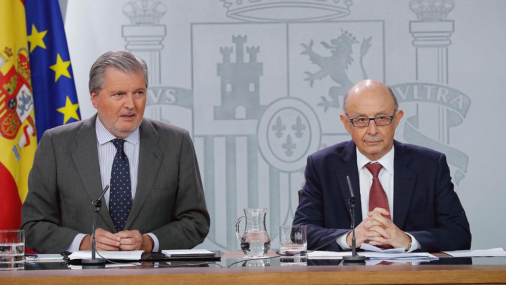 El Gobierno interviene las cuentas de la Generalitat para evitar desvíos al 1-O