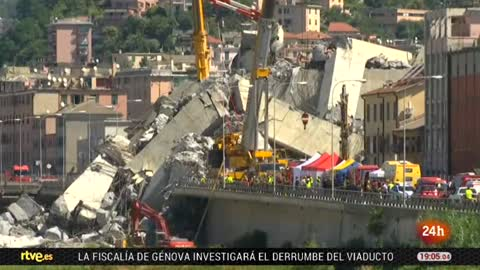 El Gobierno de Italia revoca la concesión a la empresa que gestionaba el puente derrumbado en Génova