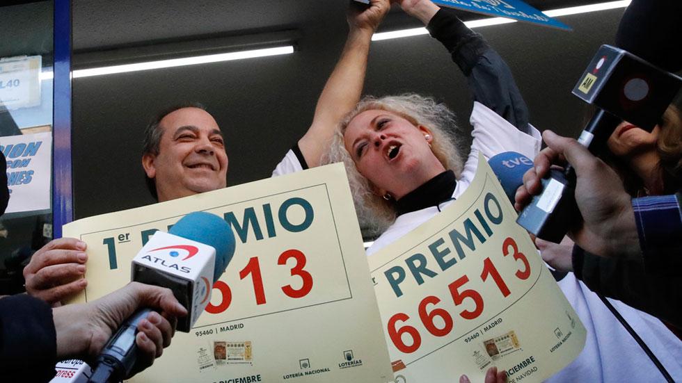'El Gordo' de la Lotería de Navidad se queda en Madrid