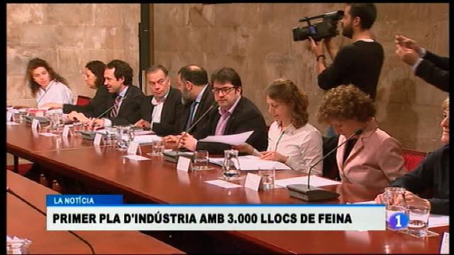 El Govern presenta el nou Pla d'Indústria