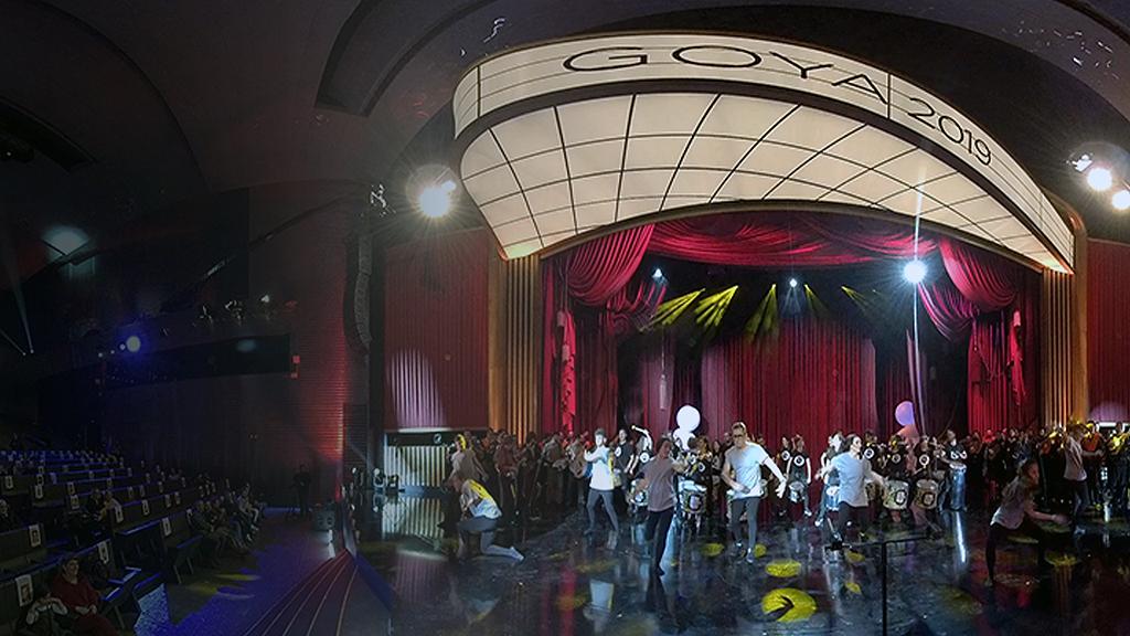 Los Goya en 360: Mira el ensayo del número musical 'The Show'