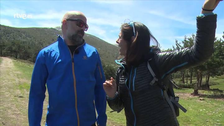 Cumbres - Goyo Jiménez en la cumbre de Peñalara - Avance