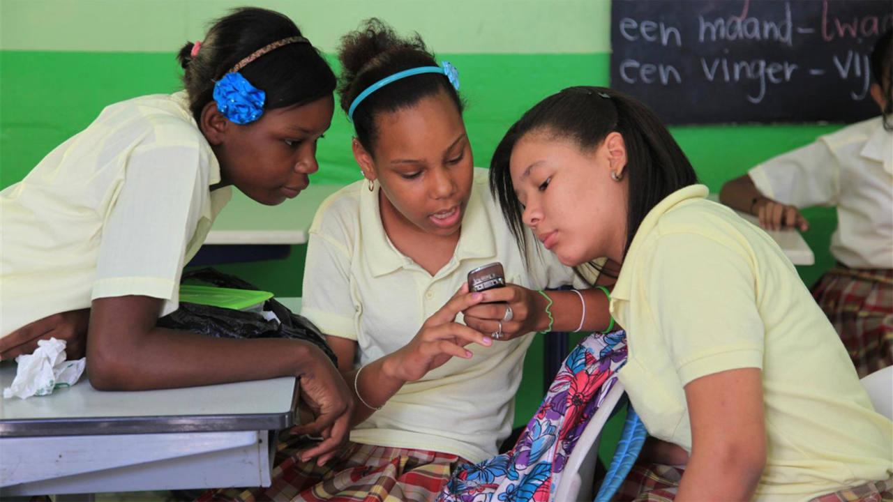 Gracias al teléfono móvil, el programa de Unicef puede llegar a las zonas más inaccesibles del mundo.
