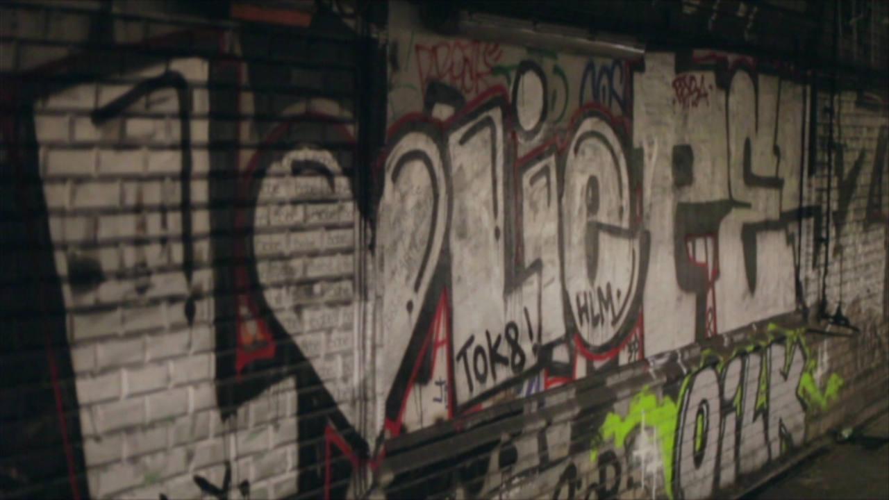 Grafiti en una pared