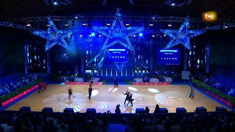 Baile deportivo - Grand Slam Series 2018 'Latino'. 3ª Prueba Rimini