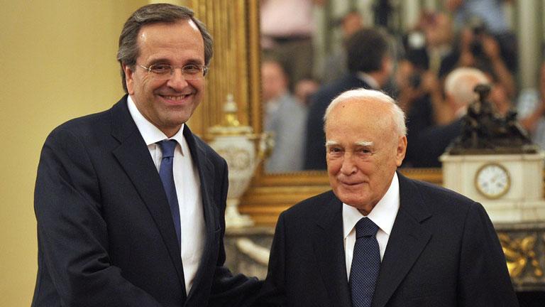 Tripartito en el Gobierno griego
