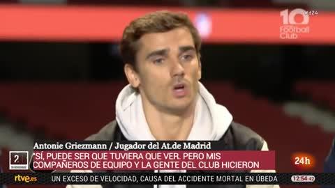 Griezmann insinúa que rechazó al Barça porque no quería ser la sombra de Messi