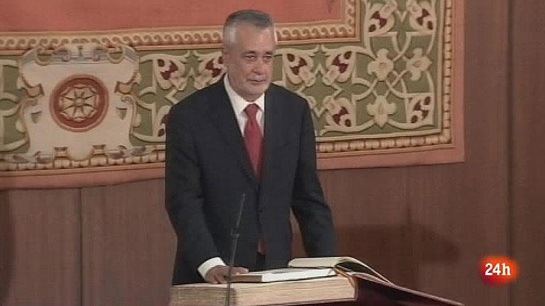 Griñán jura su cargo como presidente de la Junta de Andalucía