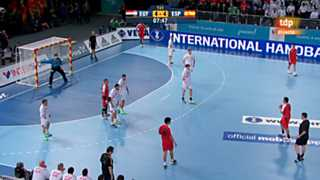 Mundial de Balonmano - Grupo D: Egipto-España