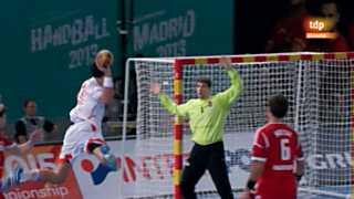 Mundial de Balonmano - Grupo D: España-Hungría