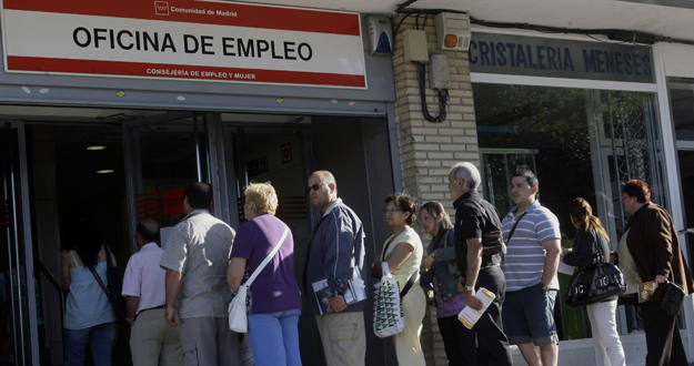 La comisi n europea prev altas tasas de paro en espa a for Oficina del paro murcia
