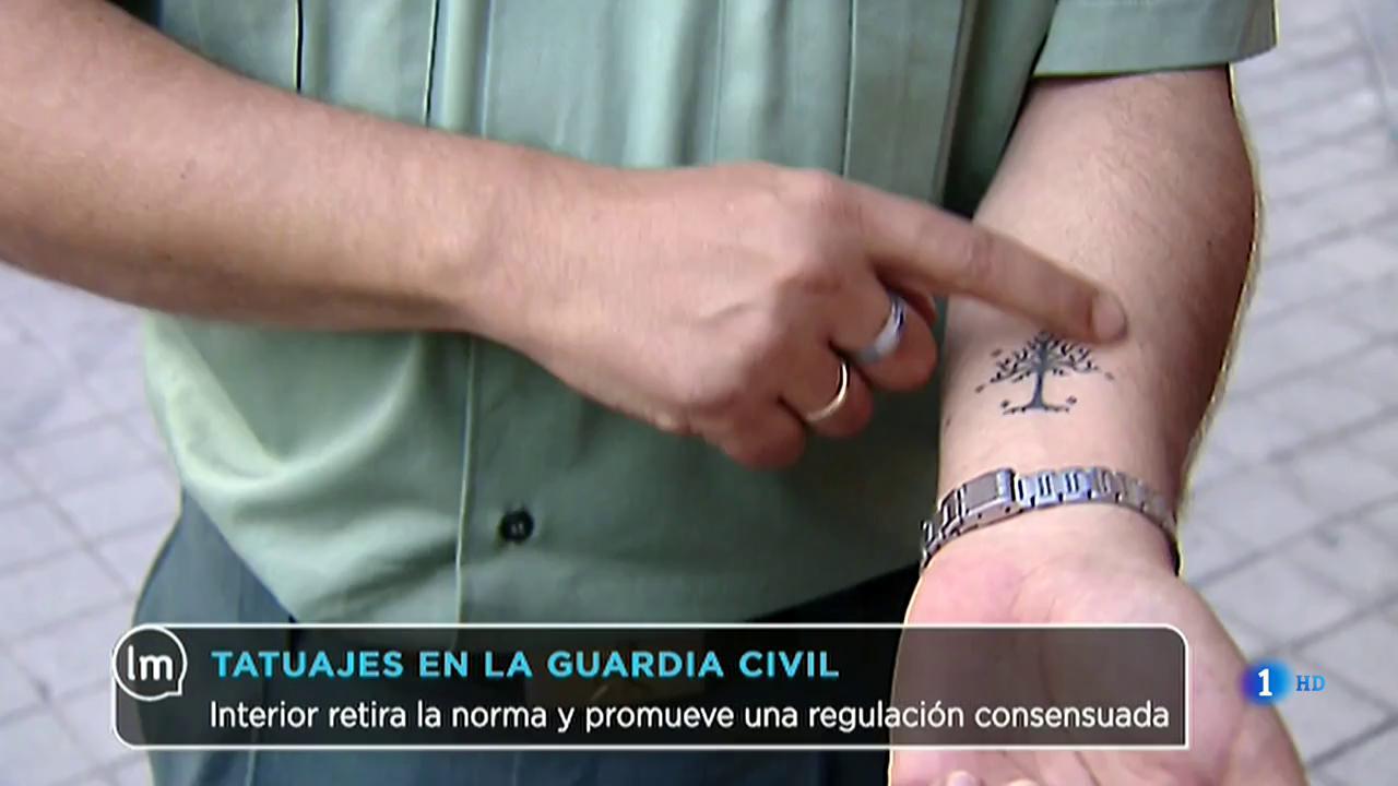La Mañana - La Guardia Civil se opone a la nueva normativa sobre los tatuajes impuesta por Interior