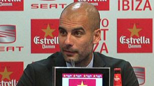 """Guardiola: """"Nunca traicioné la idea del Barça"""""""